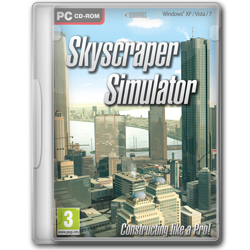 Simulator, Skyscraper Icon