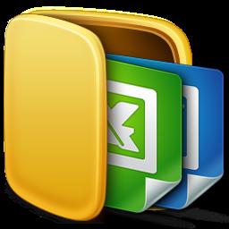 Folder, Icon, Office Icon