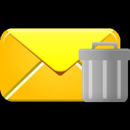 Email, Trash Icon
