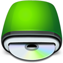 Cd, Drive, Icon, Rom Icon