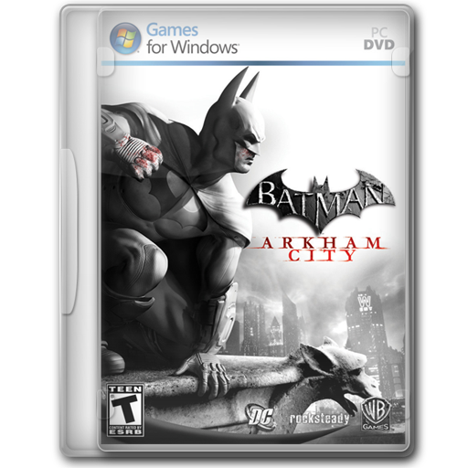 Arkham, Batman, City Icon