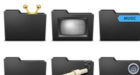 Pry Frente Black Special Icons