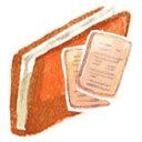 Documents, Red Icon