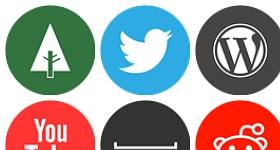 Somacro Social Media Icons