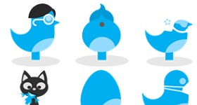 Twitter Quitter Icons