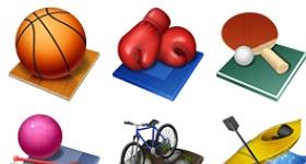 Summer Olympics Icons