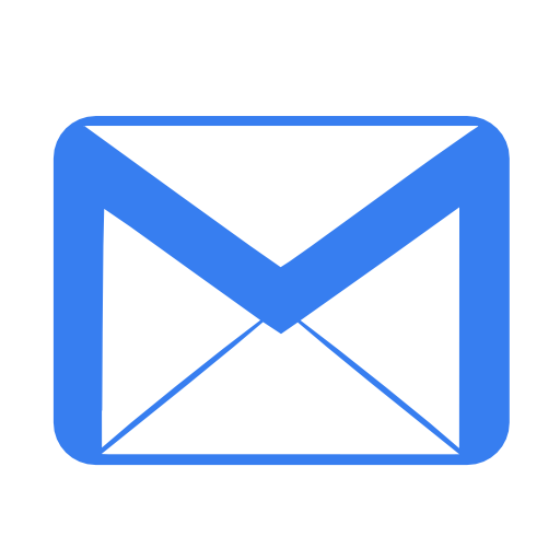 Blue, Email Icon