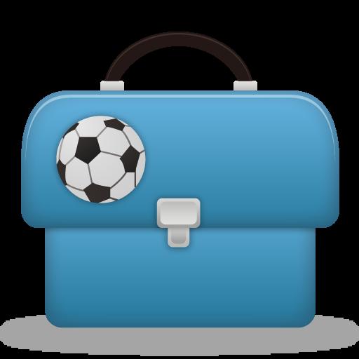 Boy, Schoolbag Icon