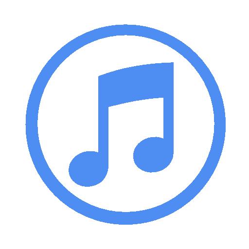 Blue, Itunes Icon