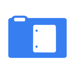 Blue Documents Icon Download Free Icons