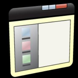 Left, Panel, Window Icon