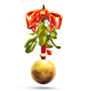 Christmas, Mistletoe Icon
