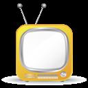 Mini, Tv, Yellow Icon