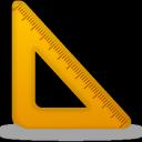 Ruler, Triangle Icon