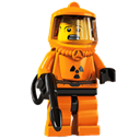 Lego, Radioactive, Suit Icon