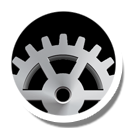 Round, Settings Icon
