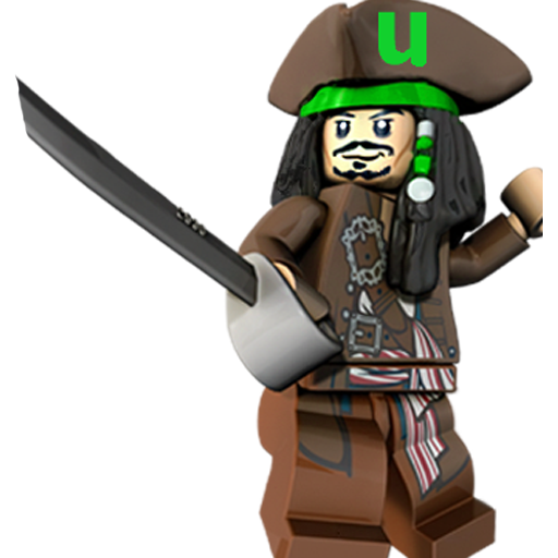 Jack, Lego, Sparrow, Utorrent Icon