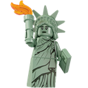 Lego, Liberty, Of, Statue Icon
