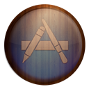 Appstore, Wooden Icon
