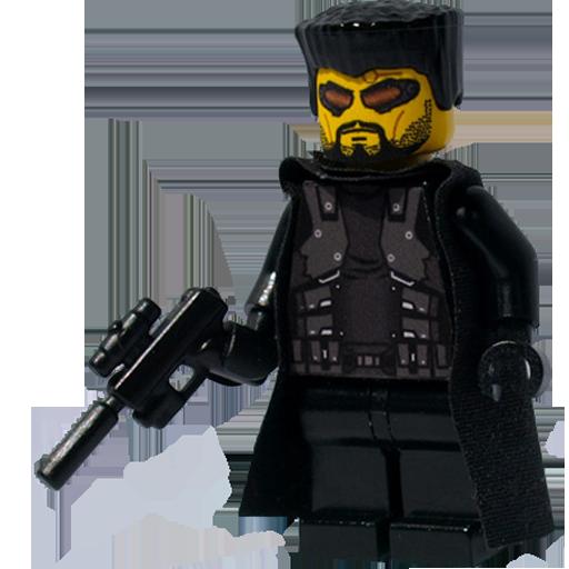 Deus, Ex, Lego Icon