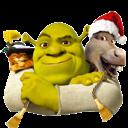 And, Donkey, Icon, Puss, Shrek Icon