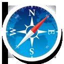 Navigator, Round Icon