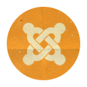 Joomla, Retro, Rounded Icon