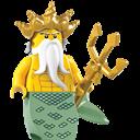 King, Lego, Sea Icon