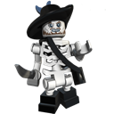 Barbossa, Lego, Undead Icon