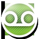 Round, Voicemail Icon