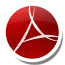 Adobe, Reader, Round Icon