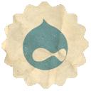 Drupal, Retro Icon