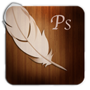 Photoshop, Wooden Icon