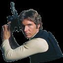 Han, Solo, Star, Wars Icon