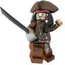 Jack, Lego, Sparrow Icon