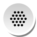 Round, Voicedial Icon