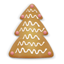 Christmas, Cookie Icon