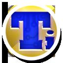 Round, Tbackup Icon