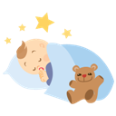 Baby, Boy, Sleeping Icon