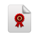 Certificate, Search Icon