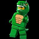 Lego, Lizard, Man Icon