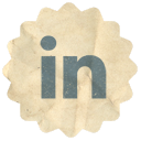 Linkedin, Retro Icon