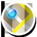 Gmaps, Round Icon
