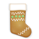 Christmas, Cookie, Stocking Icon