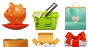 Rocket Theme E Commerce Icons