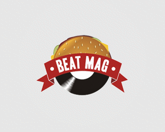 music,player,record,entertainment,beats logo