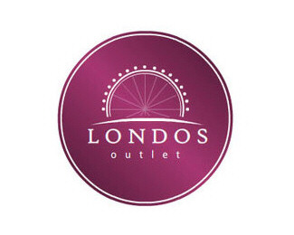circle,store,round,outlet logo