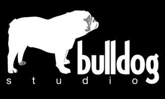 animal,studio,dog,bulldog logo