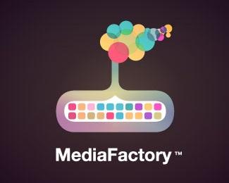 colors,media,smoke,bubbles logo