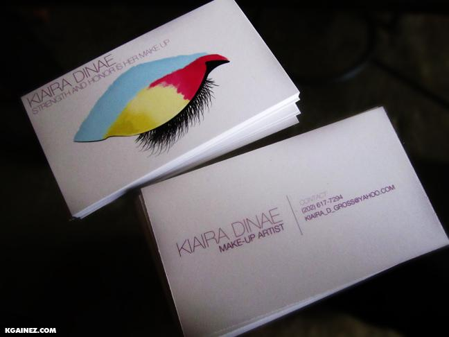 matte,fancy,multi color business card